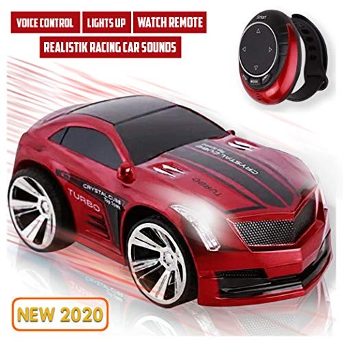 Smart Watch Remote Control Car for Boys Rechargeable Powerful Sounds & Smart Watch controller
