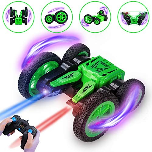 Tuptoel RC Cars Stunt Car Toy 24Ghz Remote Control Car Double Sided Spinning 360