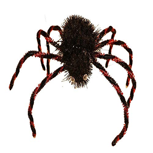 Meet&sunshine Halloween Decorate Spider Plastic Black Joking Toys Decoration Realistic