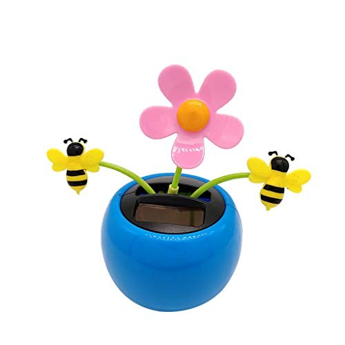 Ouniman Dancing Solar Toys 26 Styles Flower Cactus Powered Car Swinging Toy Windowsill Decoration Holiday Dashboard Office Home Desk Decor E