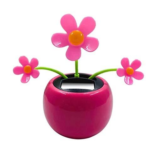 Ouniman Dancing Solar Toys 26 Styles Flower Cactus Powered Car Swinging Toy Windowsill Decoration Dashboard Office Home Desk Decor M