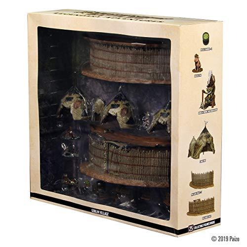 WizKids Pathfinder Battles Legendary Adventures Goblin Village Premium Set