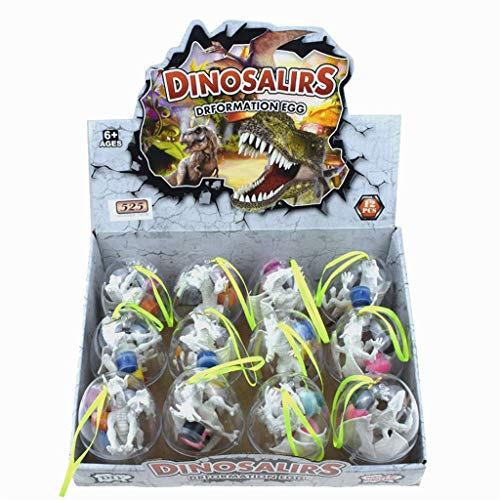 Naladoo Dinosaur Eggs Decorate Your Own Figurines 12 Kinds Of Popular Toys