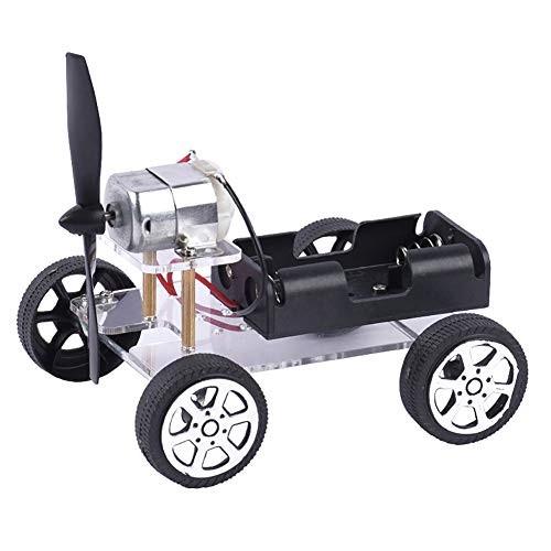 Fenfangxilas Durable Model Toy Kit DIY Wind Car Technology Science Experiment Educational Teach Gift