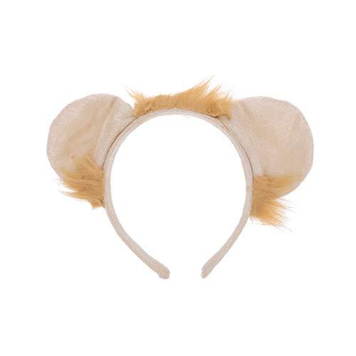Amosfun Animal Ear Headdress Lion Headwear Party Decoration Halloween Head Decorate