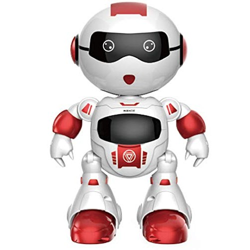 Biting Dog – robots for kids age 4 boy toys 3 toy dogs smart robot with Radio Controller Boys and Girls Blinking Led Eyes Dancing Touch to Walk Red by Faysonite