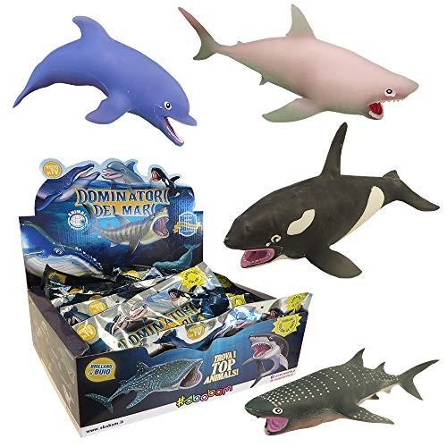 Sbabam Dominatori dei Mari Pack of 3 Animal Discovery Sachets