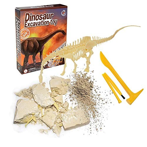 SHZONS 3D Dinosaur Model Archaeological Excavation Toys Assembly Puzzle Toy DIY Educational for Children