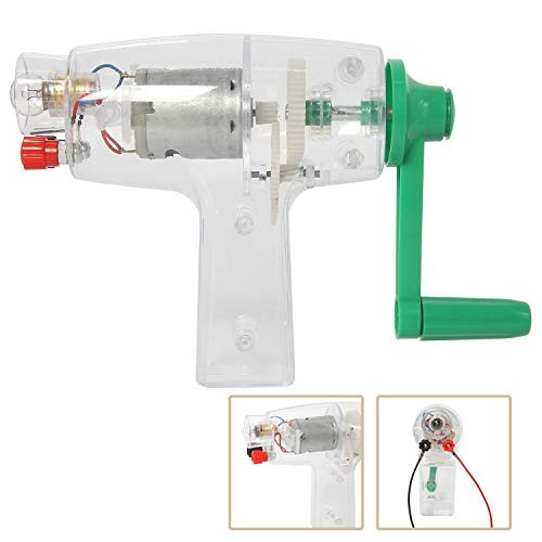 Yaegarden Manual DC Crank Generator Emergency Hand Driven Electricity Self Powered