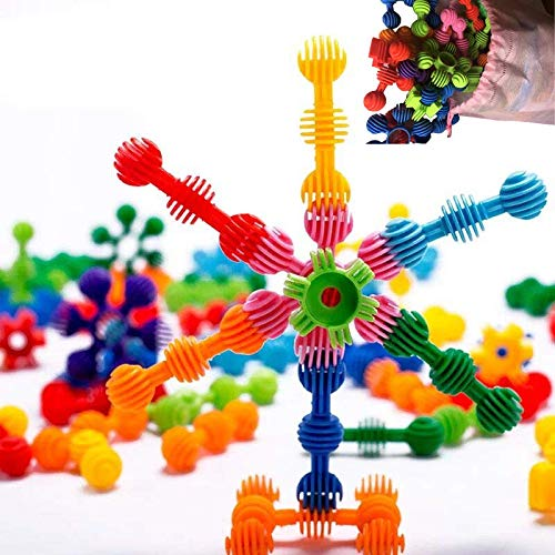 AnDa Star Flex Create Puzzle Toys Creative and Educational 3D Games Interlocking Connecting Kit Great STEM for Boys Girls