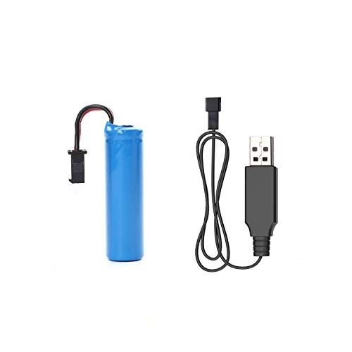DEERC Rechargeble Lithium Ion Battery and Charging Cable DE32 Remote Control Offroad Car Toys