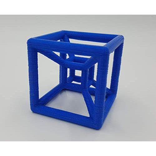 Hypercube – 3D Printed Tesseract Black