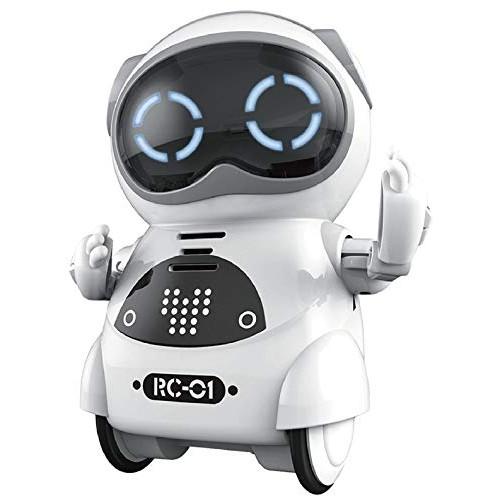 moosher Mini Pocket Robot-White