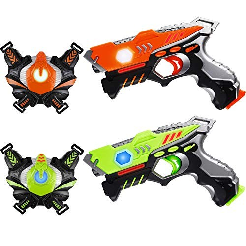 HISTOYE Lazer Laser Tag for Kids Adults Laser Tag Sets with Gun and Vest