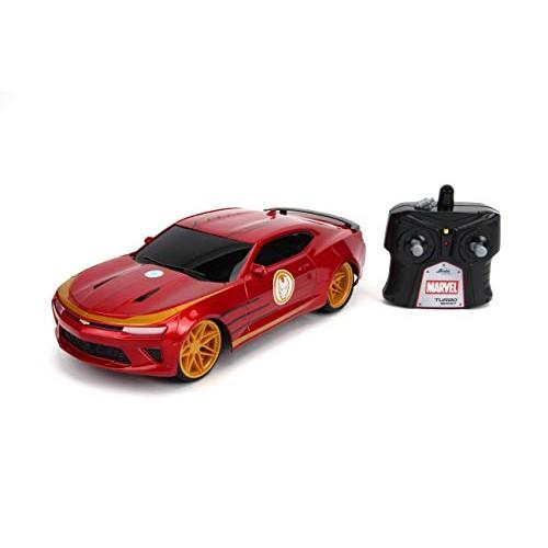Jada Toys Marvel Avengers Iron Man 2016 Chevy Camaro R/C 1: 16 Scale with
