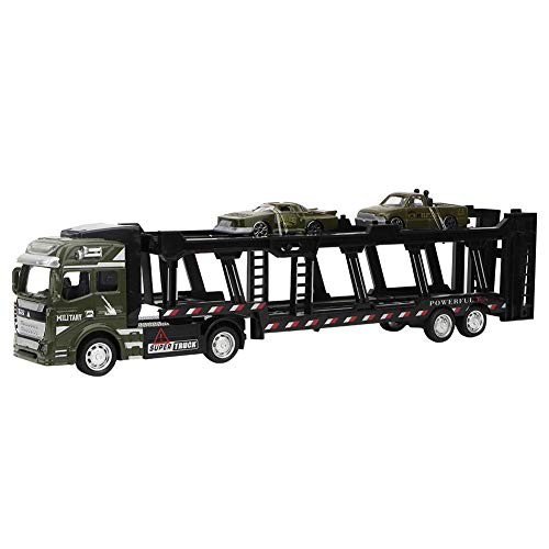 Tnfeeon Transport Vehicles 1:48 Alloy Pull Back High Simulation Large Transport Cars Model Toy
