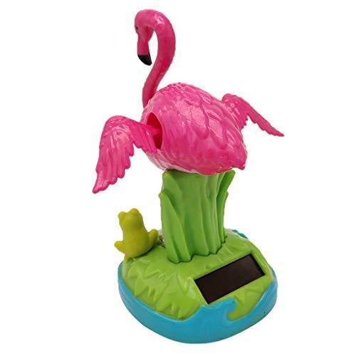 Toygogo Dancing Frog Flamingo Swing Animal Figure Kid Solar Toy xmas Halloween Decor