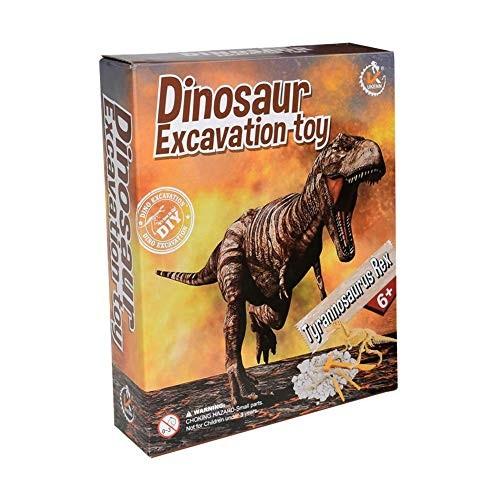 etateta 3D Dinosaur Model Archaeological Excavation Toys Assembly Puzzle Toy DIY Educational for Children Approachable