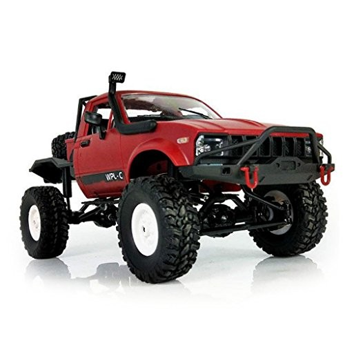 WPL C14 1/16 Scale 24G 4WD Off-road RC Semi-Truck Car Toy Auto Vehicle RTR