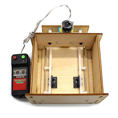 3D Elevator Door DIY Kit Science Educational Develop Toy Assembly for Children