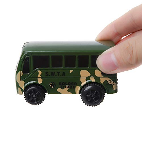 Electric Bus Rail Car Special Cars Track Toys for Kids Children's Educational Toys Gift