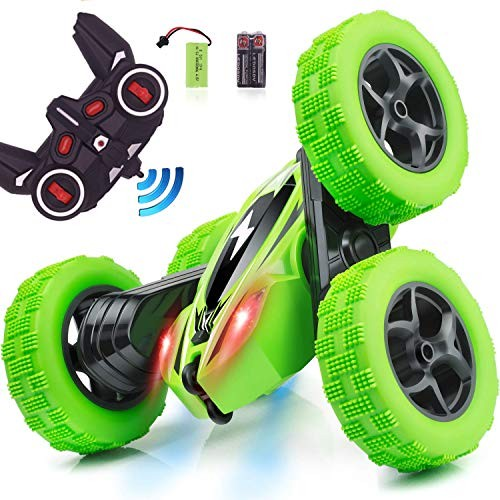 Carryfly Remote Control Car RC Stunt Car Gift idea for 4WD Double Sided Rotating