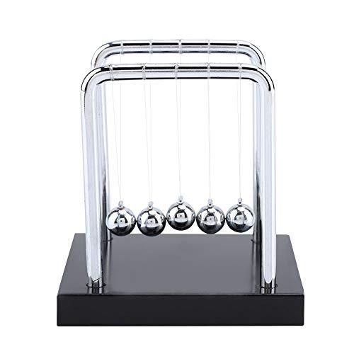 Balance Balls Toy Newton's Cradle Steel Physics Science Pendulum Ornaments Metal for Office Toys Teacher Ball