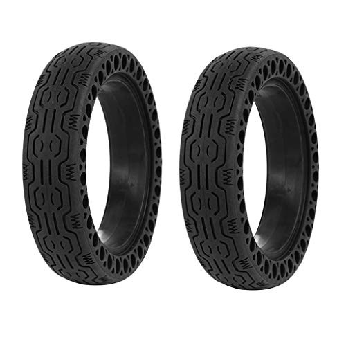 FOLOU Electric Scooter Replacement Wheels Solid Never Flat Tires for Xiaomi M365 Solid Tire
