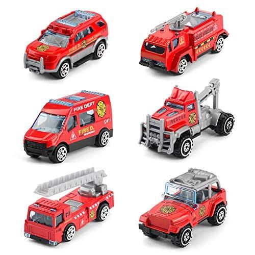 Unionm Car Toys 1:64 Mini Inertia Alloy Car Model Car Kits Toy Boy Child