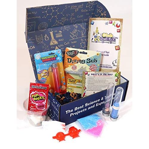 Club SciKidz STEM Box The Science of Toys-Science Kit for Kids