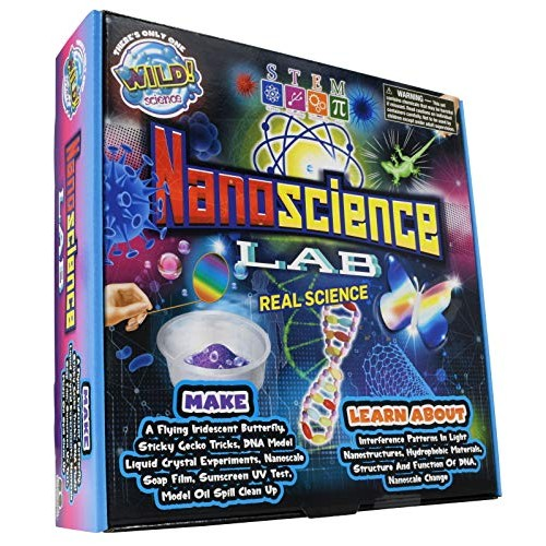 WILD Science Nanoscience Lab – Kits for Kids Amazing STEM Experiments with Tiny Particles Easy to Follow Activities Real World Applications