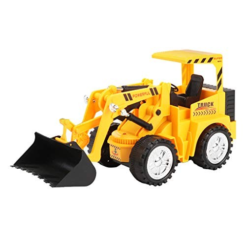 Mkcether RC Wireless Dumper Truck Toy Remote Control Electric Engineering Vehicles Excavator Tractor 5 Channel Construction for Kids and Adults B
