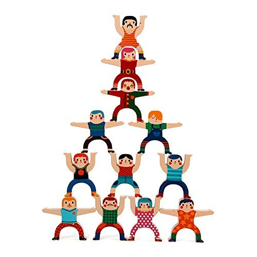 KoTag Children 3-12 Years Old Hercules Balance Stacking High Building Blocks Children's Toys Has Created Beautifully Designed Imagination Color Multi-Colored Size One Size