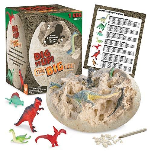 MindWare Dig It Up Big Egg Excavation kit
