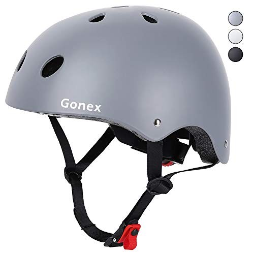 Gonex Skateboard Helmet CPCS Certified Head Protection Gear for Kids Youth & Adults Removable