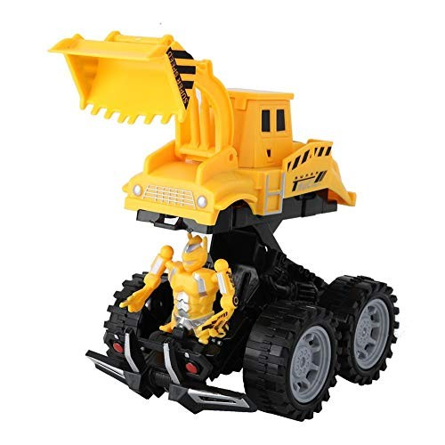 Mootea RC Engineering Car Electric Kid Boy Simulated Catapult Toy Mini Vehicle Model Toys for Kids Excavation Vehicle