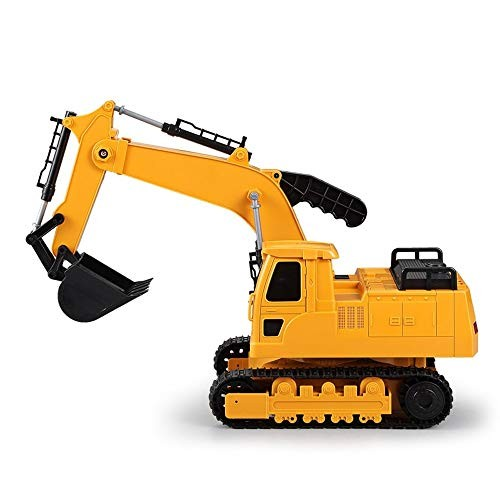 IBalody Large Manual Children's Excavator Toy Car Boy Engineering Car Large Hook Machine Excavator