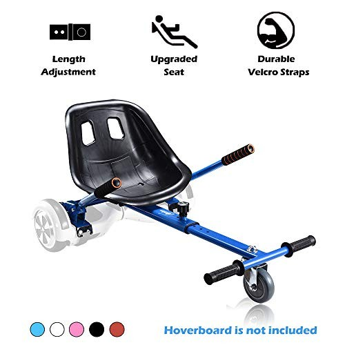 Go Kart Hoverboard Seat Attachment Accessories Hover Board Cart for Adults Kids Self Balancing
