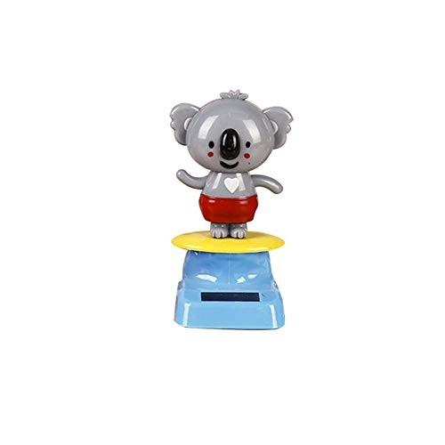 Dailyfun Amasstu Solar Dancing Toys Powered Kitten Koala Swinging Animated Bobble Dancer Toy Car Dashboard Home Decoration Kids Festival Gift Excellent