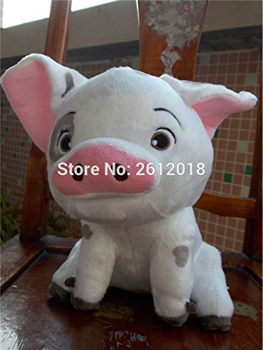 LAJKS Moana Wailea Maui Pet Pig Plush Doll Toy 10'' Must Have Tools Friendship Gifts The Favourite DVD Superhero Coloring LOL UNbox