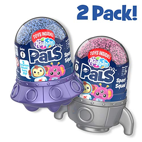 Educational Insights Playfoam Pals Space Squad 2-Pack Non-Toxic Never Dries Out 5 Surprises Inside Sensory Shaping Fun Arts & Crafts For Kids Perfect Ages 5+