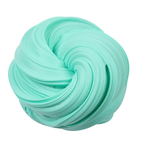 VICCKI Beautiful Color Cloud Slime Putty Scented Stress Kids Clay Toy Sky Blue