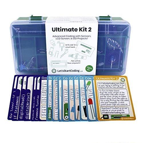 Ultimate Coding Kit 2 for Boys and Girls Aged 1011121314 to Learn STEM Programming Skills with 100+ Free Online Projects
