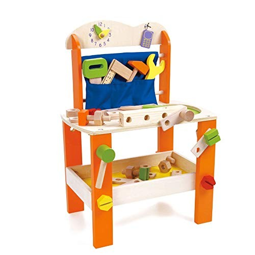 Tagke Wooden Nut Combination Disassembly Toy Tool Table Educational Toys Luban Chair Boy Gift Building Blocks Puzzle