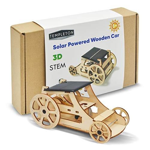 Templeton Educational Solar Powered Car STEM Building Kit