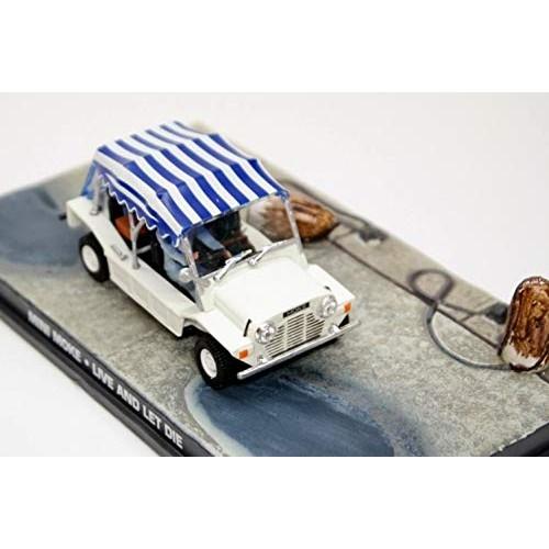 Leyland Mini Moke YDO18 'Live and Let Die (1973)' White 1972 Year – 4-Seat
