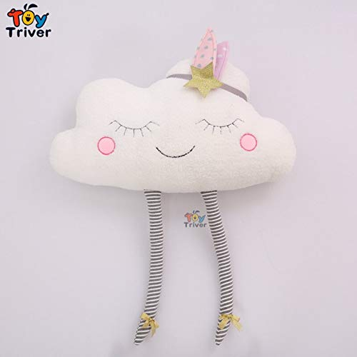 LAJKS Plush Cloud Toy Pillow Cushion I Indian Clouds Girl Stuffed Appease Doll Children Kids Gift Triver Home Bedroom Decor Must Have Toys 1 Year Old Gifts The Favourite Superhero Coloring