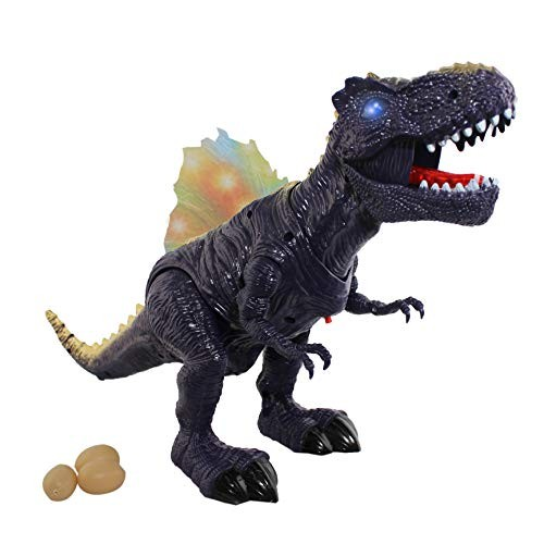 P&F Rex Dinosaur with Realistic Dino Sounds Walking Motion Light Up Toy