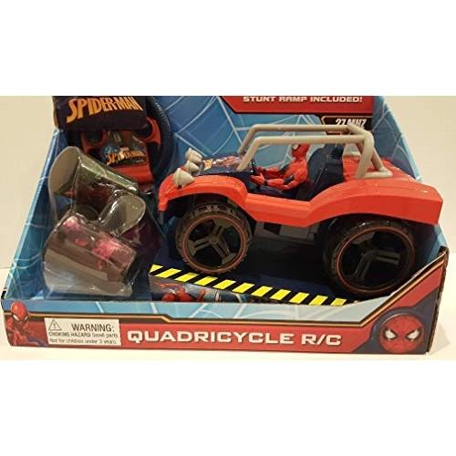 Marvel Spiderman Quadricycle R/C with Stunt Ramp!