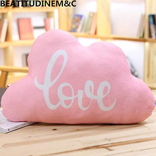 LAJKS Cute Style Cloud Plush Toy Pillow Cushion Animal Children Room Decoration Sofa Home Decor Teen Must Haves Funny Gifts Favourite Movie Superhero Coloring
